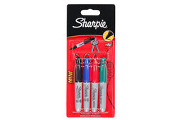 Sharpie Mini Fine Marker (4 Colour Pack)