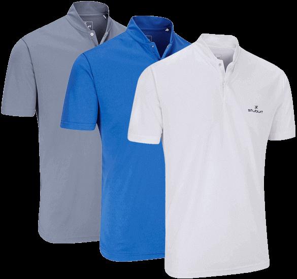 Stuburt Fashion Collar Polo Shirt