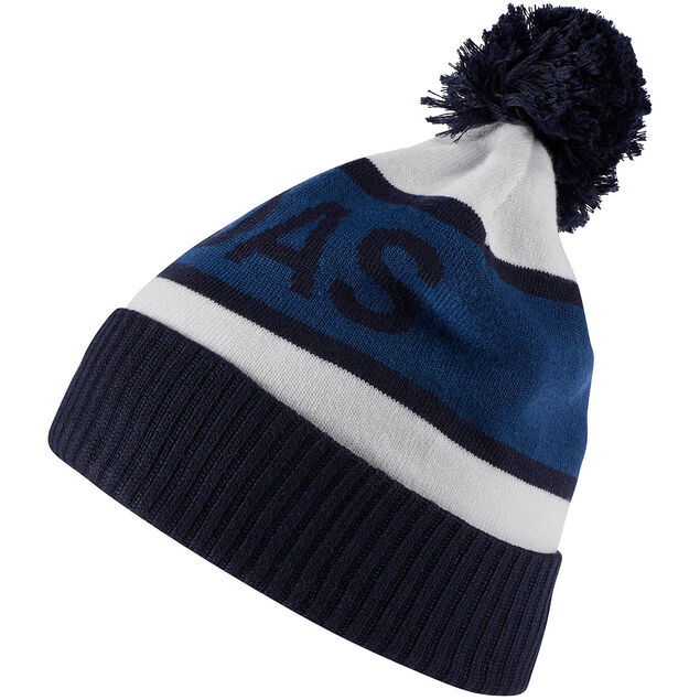 The adidas Golf beanie features  3eb71fd1517