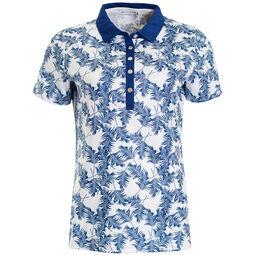6468709e Green Lamb Ladies Patrice Printed Polo Shirt
