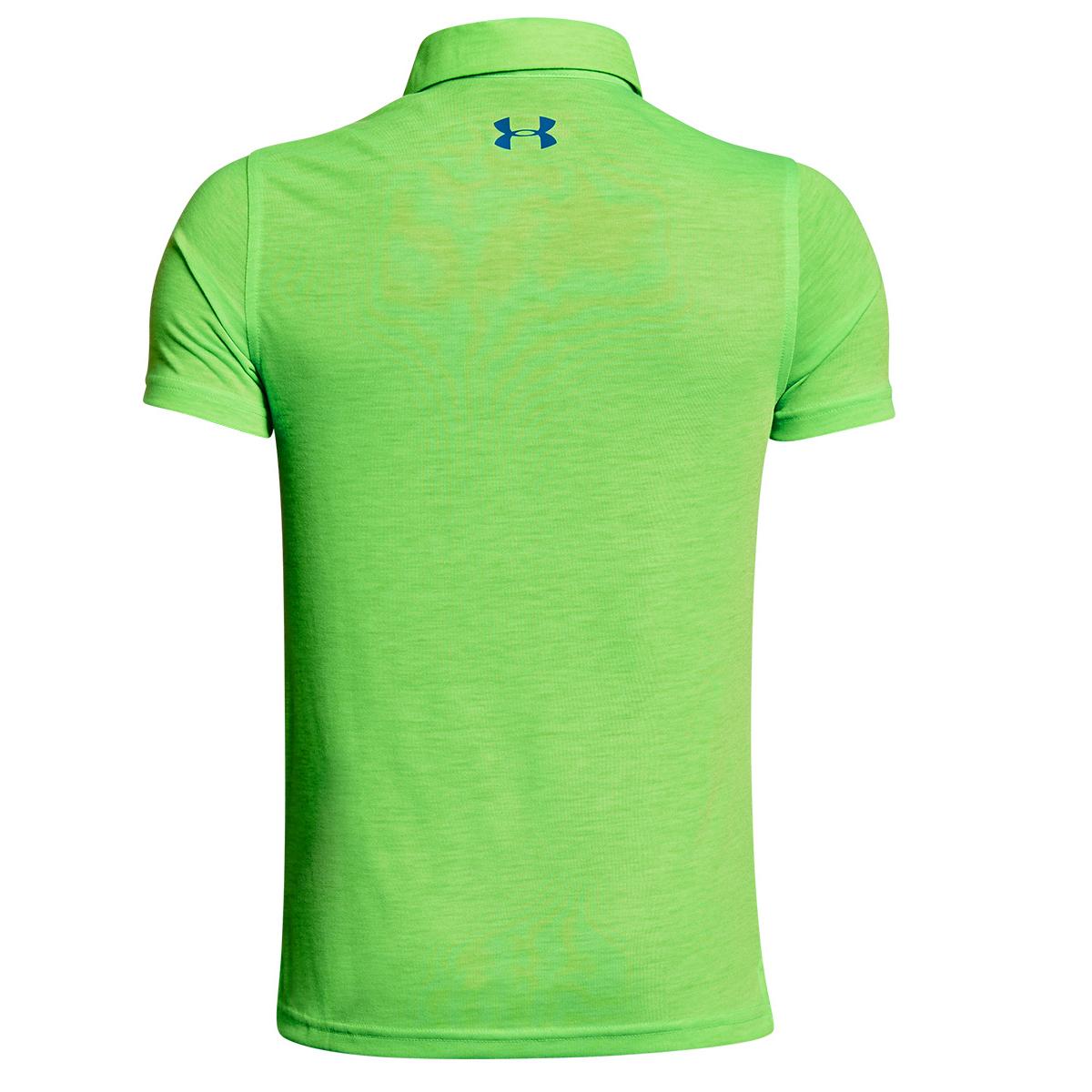 00a1897b Under Armour Junior Threadborne YD Engineered Polo Shirt | Online Golf