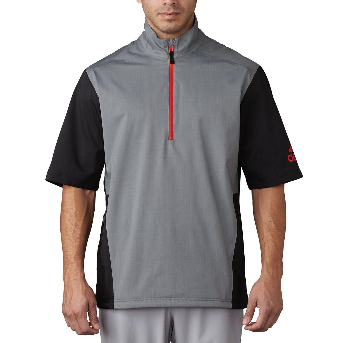 adidas Golf Climaproof Heathered Rain Jacket