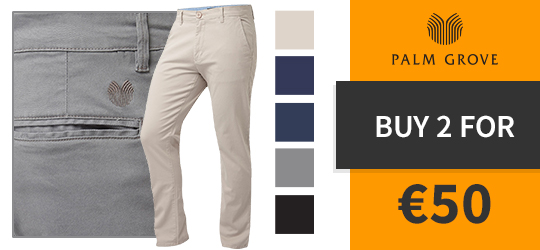 Buy 2 Palm Grove Chinos for 50€