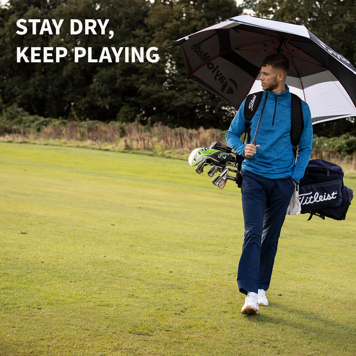 STAY DRY KEEP PLAYING