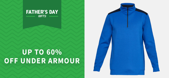 Up to 60% off Under Armour