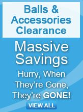 Balls & Accessories clearance banner
