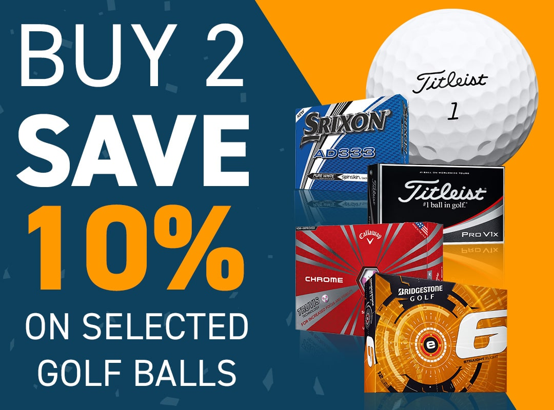 Save 10% on Golf Balls